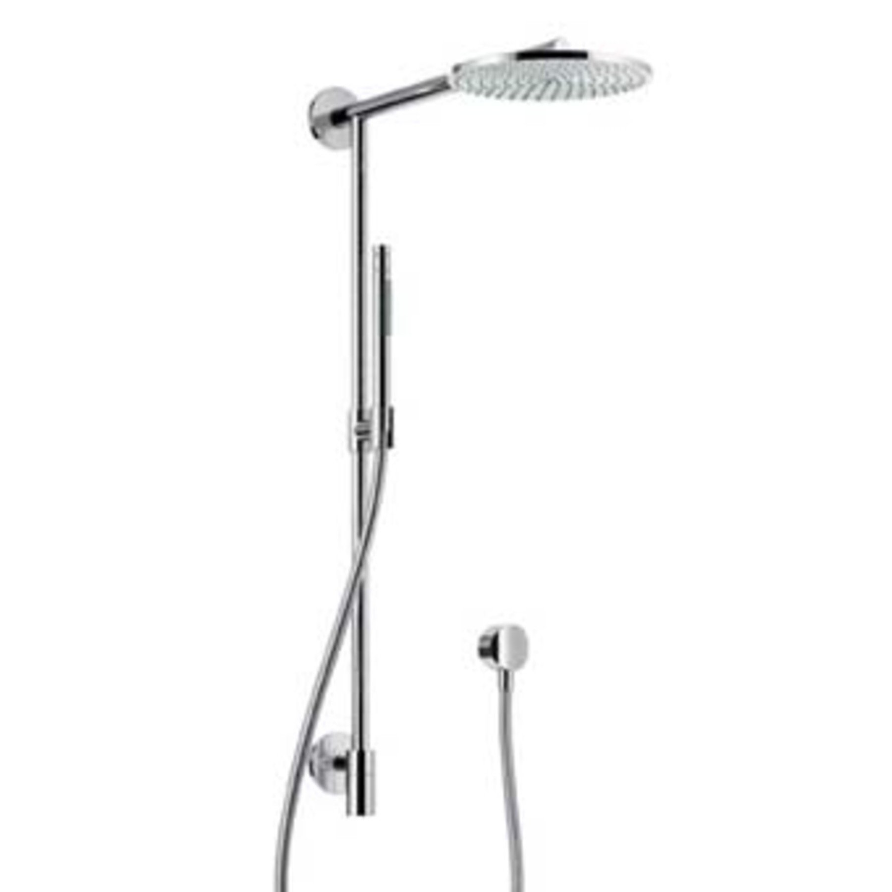 Hansgrohe Raindance Connect douchesysteem AIR 240mm