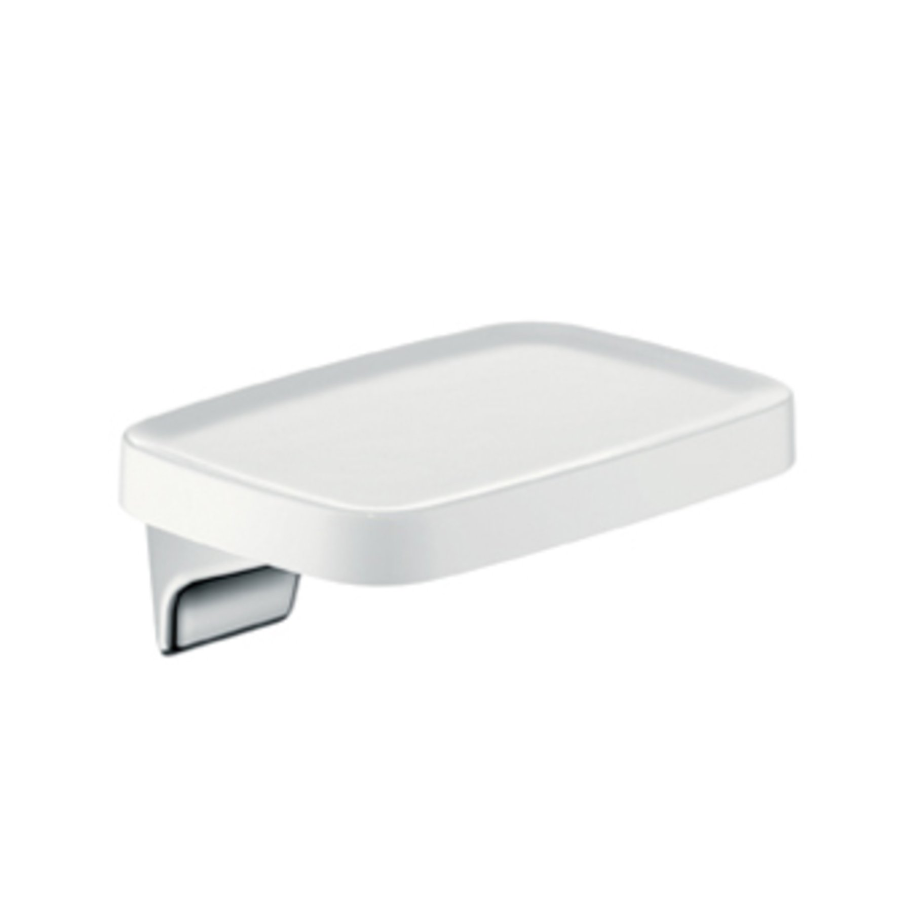 Hansgrohe AXOR Bouroullec planchet 25cm chroom wit