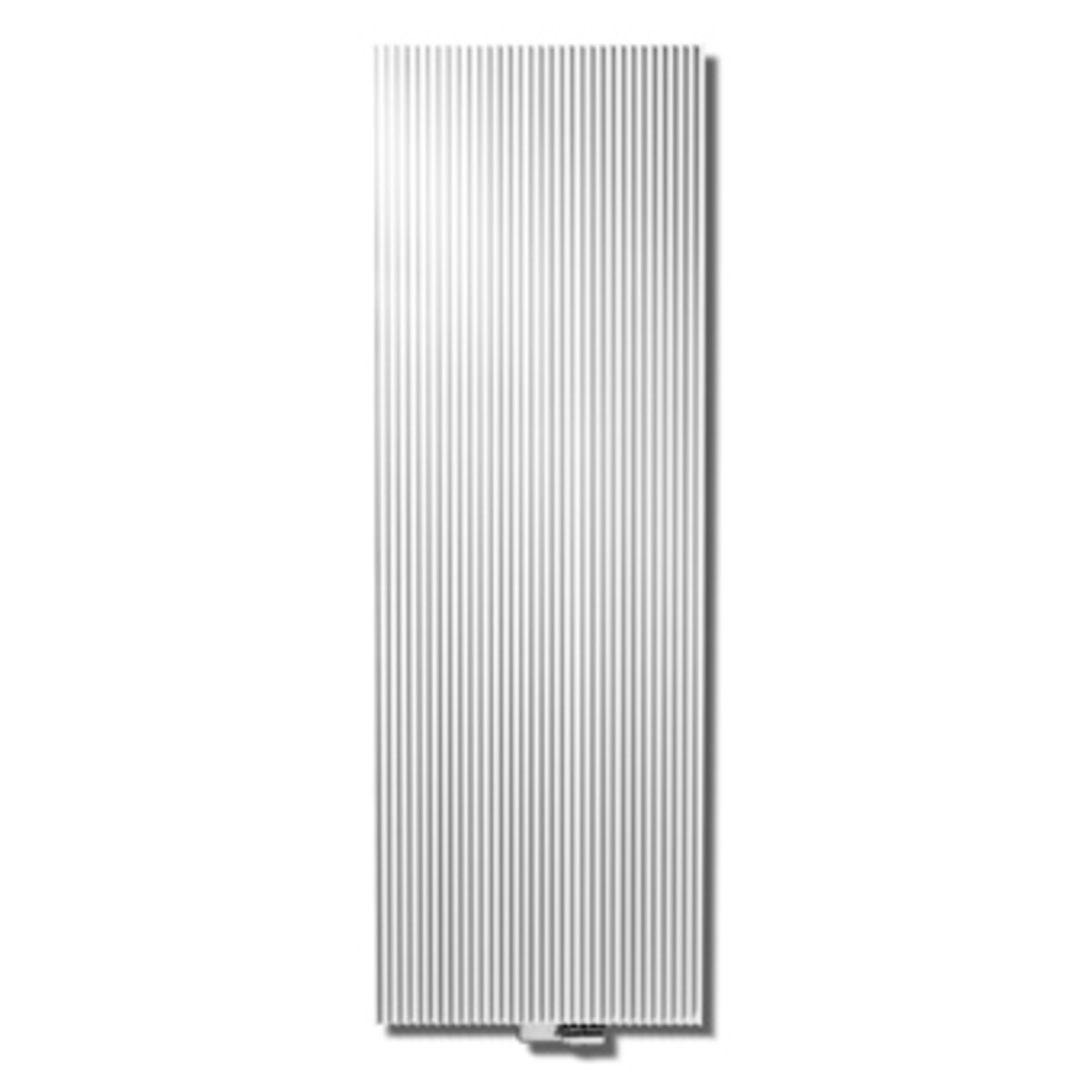 Vasco Canyon designradiator verticaal 1800x455mm 1600W aansluiting 66 wit aluminium (RAL9006)