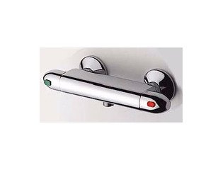 Plieger Spring Thermostat de douche entraxe 12cm chrome 0690821