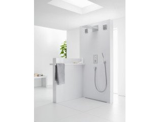 Hansgrohe PuraVida staafhanddouche Air 1jet wit chroom 0451106