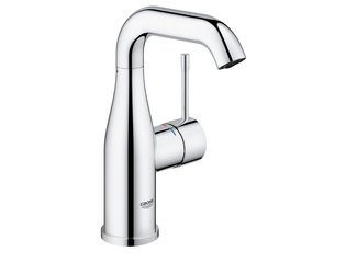 Grohe Essence New 1 gats wastafelkraan M size met hoge draaibare uitloop EcoJoy met 28mm cartouche chroom OUTLET OUT5801