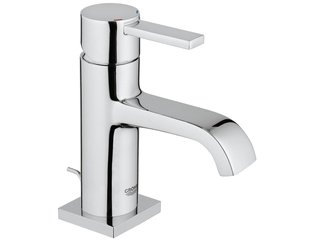 Grohe Allure wastafelkraan met lage uitloop met waste EcoJoy chroom 0434105