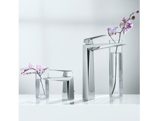 Grohe Allure Brilliant wastafelkraan met waste chroom 0442130