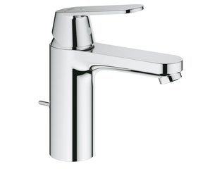 Grohe Eurosmart Cosmopolitan wastafelkraan met medium uitloop met waste chroom 0465033