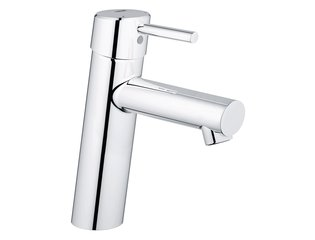 Grohe Concetto wastafelkraan medium 28mm met temperatuurbegrenzer chroom 0442047