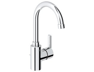 Grohe Feel wastafelkraan met waste met hoge uitloop chroom 4339355