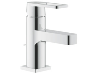 Grohe Quadra wastafelkraan 35mm Ecojoy E met waste chroom 0437515