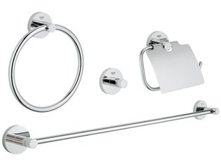 Grohe Essentials accessoireset 4 in 1 chroom 0438152