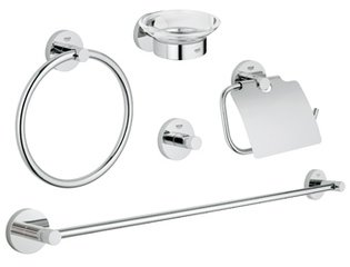Grohe Essentials accessoireset 5 in 1 chroom 0438153