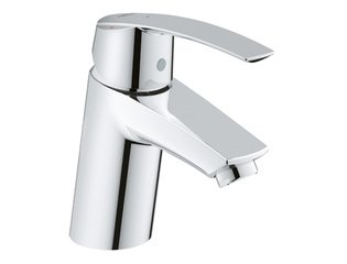 Grohe Start wastafelkraan S-size met push open chroom SW94447
