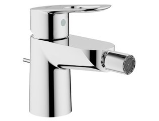 Grohe Bau Loop 1 gats bidetkraan met waste met open greep chroom SW47043