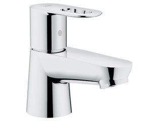 Grohe Bau Loop toiletkraan 1/2 met open greep chroom SW47039