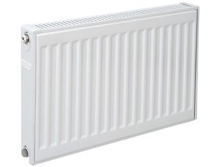 Plieger paneelradiator compact type 11 600x1000mm 908W wit OUTLET