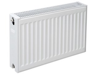 Plieger paneelradiator compact type 22 600x1400mm 2456W wit structuur 7341063