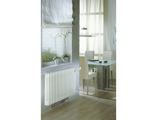 Zehnder Charleston ledenradiator 400x552mm 374W wit 7611612