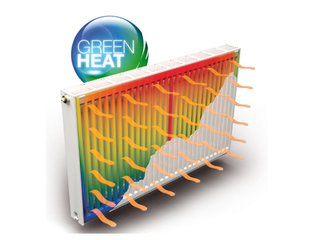 Stelrad Novello M Eco ventielradiator type 21 900x1400mm 2570W midden links aansl. wit SW69319