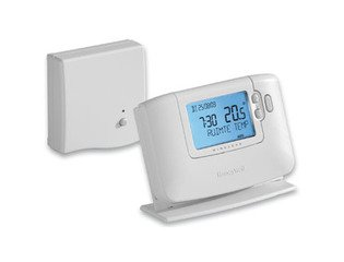 Honeywell Chronotherm klokthermostaat draadloos 24V Modulation/Open therm wit