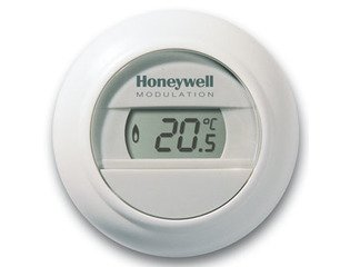 Honeywell Round Thermostat de salon 24V Modulation blanc