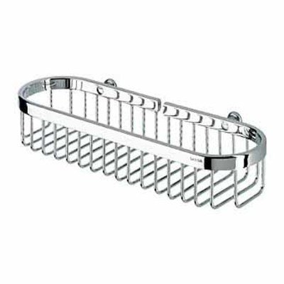 Geesa Basket Exclusive Porte flacon 27.25x10cm chome