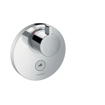 Hansgrohe ShowerSelect S afbouwdeel voor inbouwkraan thermostatisch met Highflow met 1 stopkraan voor 1 douchefunctie chroom