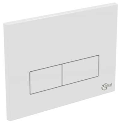Ideal Standard Plaque de commande rectangulaire DF blanc