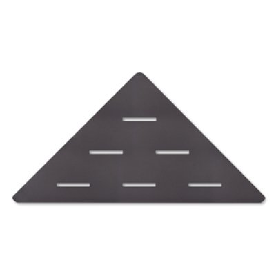 Looox Corner Shelf Tablette murale d'angle 30x22cm anthracite