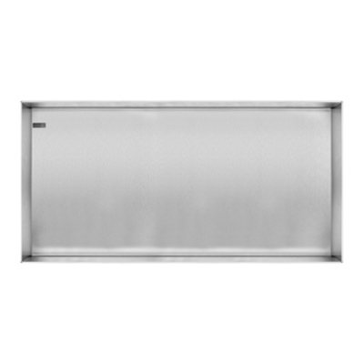 Looox Colour box Niche encastrable 60x30cm inox brossé