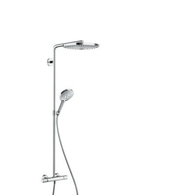 Hansgrohe Raindance select s300 2jet showerpipe wit chroom