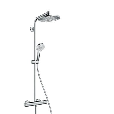 Hansgrohe Crometta s 240 1jet showerpipe met thermostaat chroom