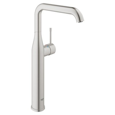 Grohe Essence new xl size wastafelkraan supersteel