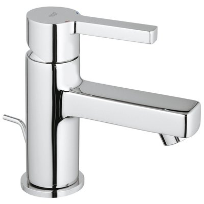 Grohe Lineare wastafelkraan 28mm met waste chroom