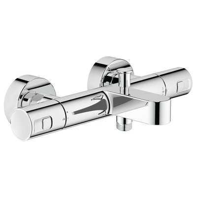 Grohe Precision Joy badkraan thermostatisch chroom
