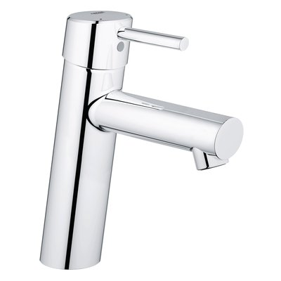 Grohe Concetto wastafelkraan medium 28mm met temperatuurbegrenzer chroom