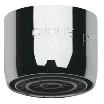 Grohe mousseur M22x1 RVS look