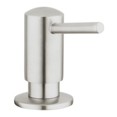 Grohe Contemporary zeepdispenser 0.4L voor in keuken supersteel