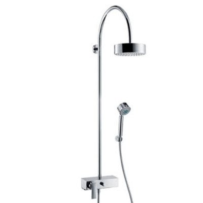 AXOR Citterio showerpipe met 1 greeps douchekraan chroom