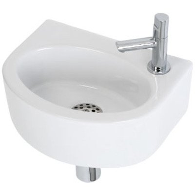Plieger Orlando fonteinset compleet 30x22x11cm wit OUTLET