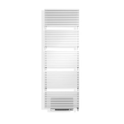 Vasco Carré CB-EL-BL design radiator elektrisch met blower 1737x600mm, 1250W grijs-aluminium (M307)