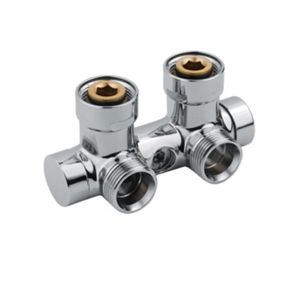 Vasco Set de valves à angle droite 50mm