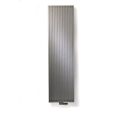 Vasco Carre Plus designradiator 1800x415mm 1485W aansluiting 1188 antraciet (M301)