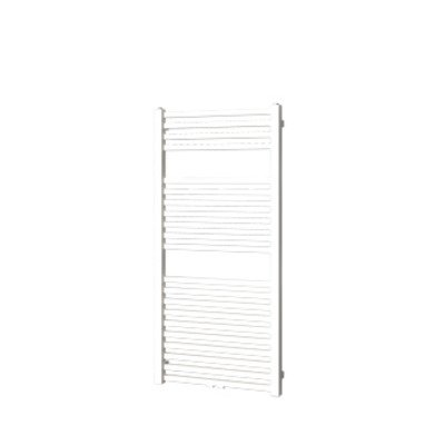 Plieger Roma M designradiator horizontaal middenaansluiting 1255x600mm 558W wit OUTLET