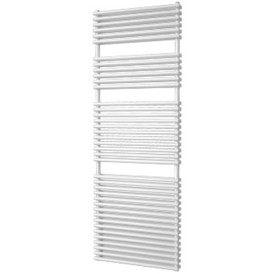 Plieger Florian Nxt designradiator dubbel horizontaal 1710x600mm 1366W wit structuur OUTLET