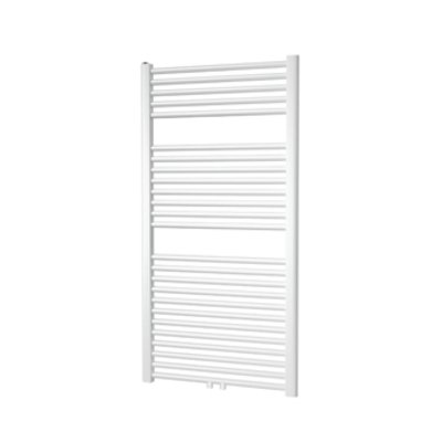 Plieger Palmyra designradiator middenaansluiting 1175x500mm 580W antraciet metallic