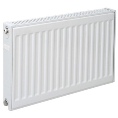 Plieger paneelradiator compact type 11 400x400mm 258W wit structuur