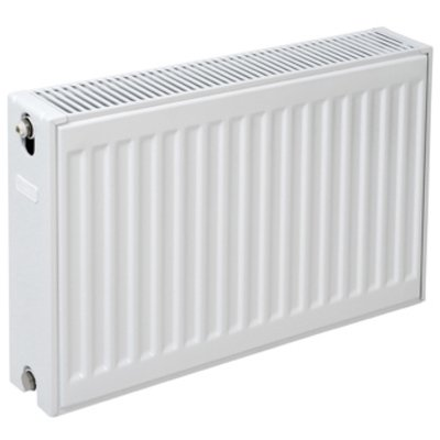 Plieger paneelradiator compact type 22 400x1000mm 1274W wit structuur
