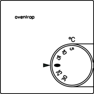 Oventrop thermostat d'ambiance 230 v