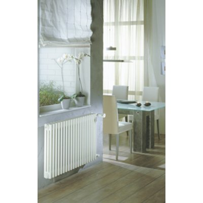 Zehnder Charleston ledenradiator 600x1380mm 1827W wit