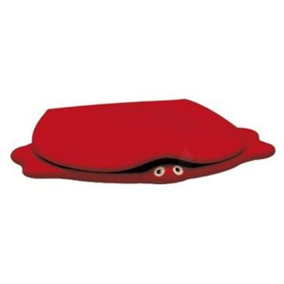 Sphinx 300 Turtle Abattant d'enfant softclose rouge