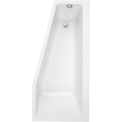 Villeroy en Boch Subway bad acryl offset rechts 170x80cm wit